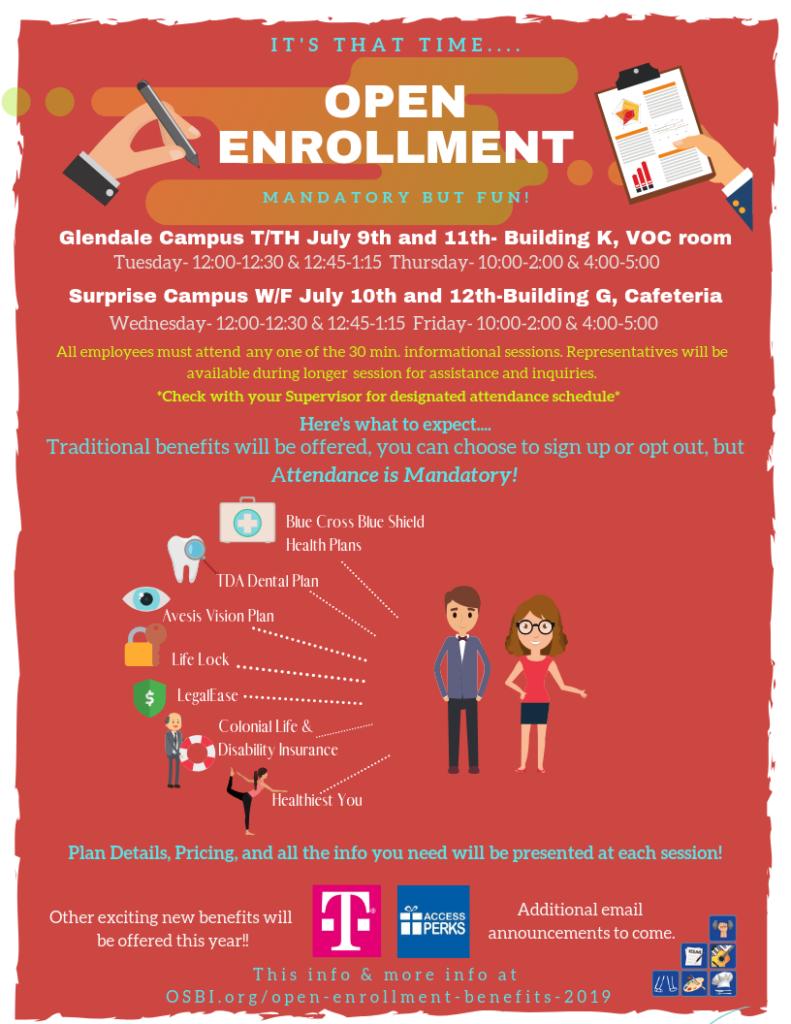 Open Enrollment Benefits 2019